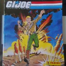 Coleccionismo Álbum: ÁLBUM CROMOS G.I. JOE ED. PANINI 1987. Lote 194982392