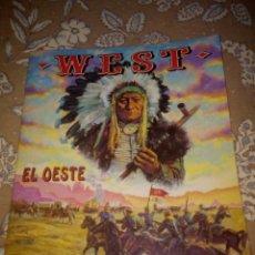 Coleccionismo Álbum: ÁLBUM WEST EL OESTE DE PANINI. Lote 194992345