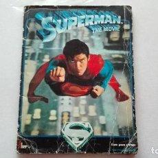 Coleccionismo Álbum: ALBUM CROMOS SUPERMAN . Lote 195029931