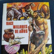 Coleccionismo Álbum: ALBUM HACE MILLONES DE AÑOS COMPLETO 1971. Lote 195039791