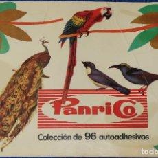 Coleccionismo Álbum: PÁJAROS - PANRICO (1972) ¡COMPLETO!. Lote 195059866