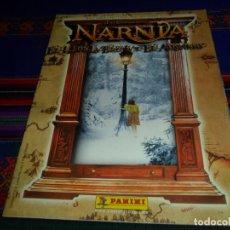 Coleccionismo Álbum: LAS CRÓNICAS DE NARNIA, EL LEÓN, LA BRUJA Y EL ARMARIO COMPLETO. PANINI 2006.. Lote 195083087