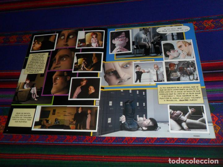 Coleccionismo Álbum: CON PÓSTER, LOS INCREÍBLES COMPLETO. PANINI 2004. DISNEY PIXAR. BUEN ESTADO. - Foto 3 - 195084508