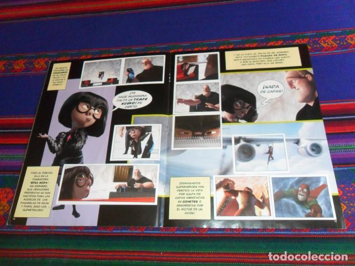 Coleccionismo Álbum: CON PÓSTER, LOS INCREÍBLES COMPLETO. PANINI 2004. DISNEY PIXAR. BUEN ESTADO. - Foto 4 - 195084508