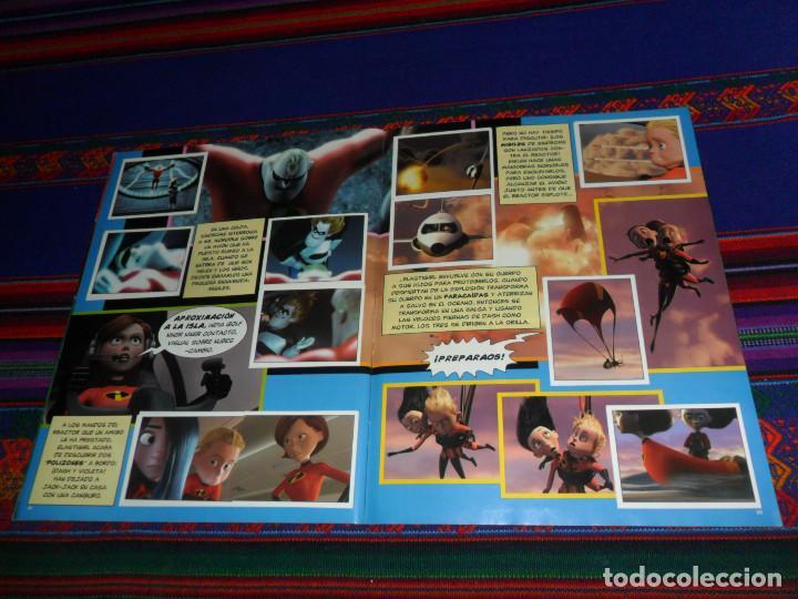 Coleccionismo Álbum: CON PÓSTER, LOS INCREÍBLES COMPLETO. PANINI 2004. DISNEY PIXAR. BUEN ESTADO. - Foto 5 - 195084508