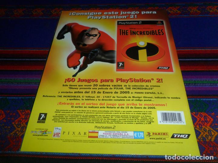 Coleccionismo Álbum: CON PÓSTER, LOS INCREÍBLES COMPLETO. PANINI 2004. DISNEY PIXAR. BUEN ESTADO. - Foto 7 - 195084508