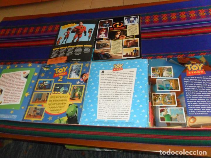 Coleccionismo Álbum: TOY STORY COMPLETO Y TOY STORY 2 COMPLETO. PANINI 1995. DISNEY. REGALO LOS INCREÍBLES CON EL PÓSTER. - Foto 3 - 195085740