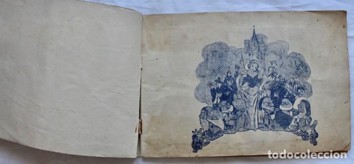 Coleccionismo Álbum: ALBUM PARA CROMOS -BLANCA NIEVES Y LOS 7 ENANOS- FHER- 1940- ALBUM COMPLETO. - Foto 2 - 195101241