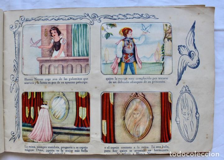 Coleccionismo Álbum: ALBUM PARA CROMOS -BLANCA NIEVES Y LOS 7 ENANOS- FHER- 1940- ALBUM COMPLETO. - Foto 6 - 195101241