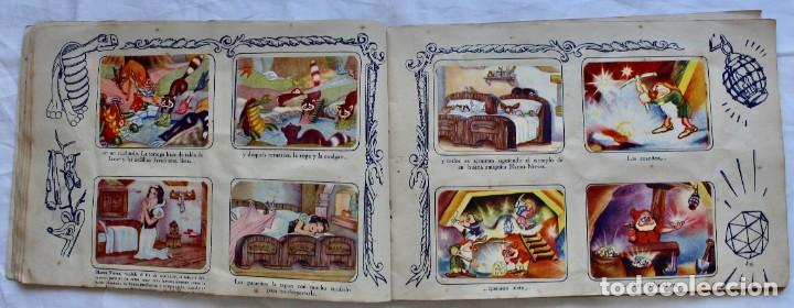 Coleccionismo Álbum: ALBUM PARA CROMOS -BLANCA NIEVES Y LOS 7 ENANOS- FHER- 1940- ALBUM COMPLETO. - Foto 8 - 195101241