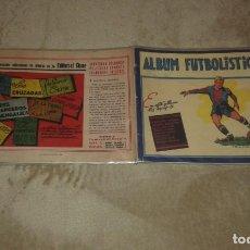 Coleccionismo Álbum: COLECCIONÍSMO: ÁLBUM FUTBOLÍSTICO 1942 EDITORIAL CISNE. Lote 195106028