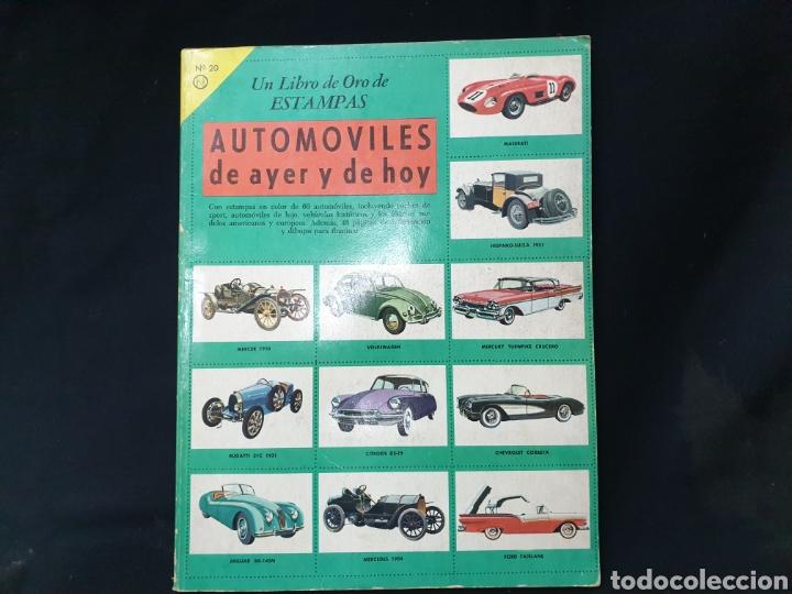 Coleccionismo Álbum: Libro de oro de estampas , Automoviles de ayer y de hoy Novaro 1948 - Foto 2 - 195106928