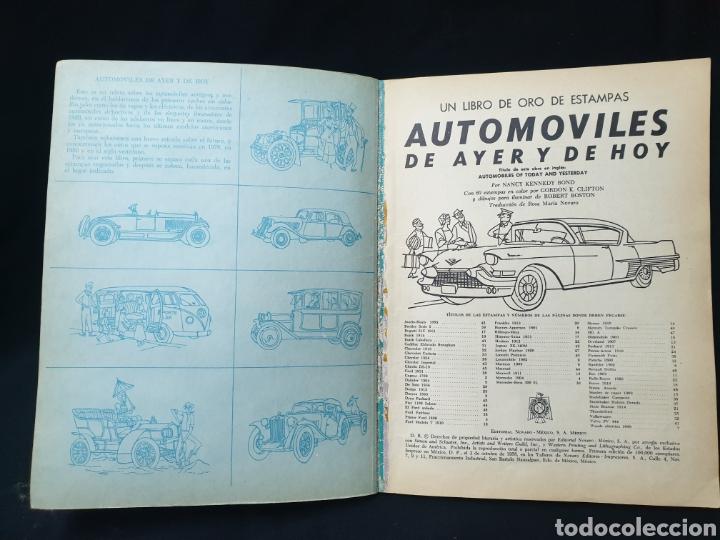 Coleccionismo Álbum: Libro de oro de estampas , Automoviles de ayer y de hoy Novaro 1948 - Foto 3 - 195106928