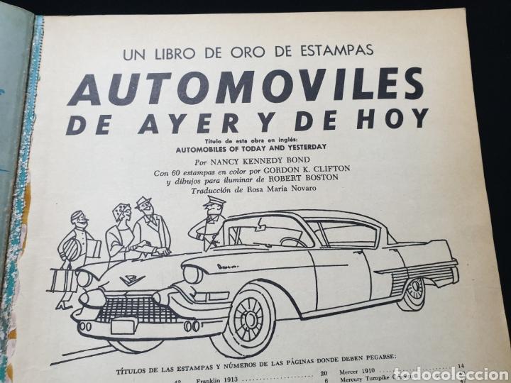 Coleccionismo Álbum: Libro de oro de estampas , Automoviles de ayer y de hoy Novaro 1948 - Foto 5 - 195106928