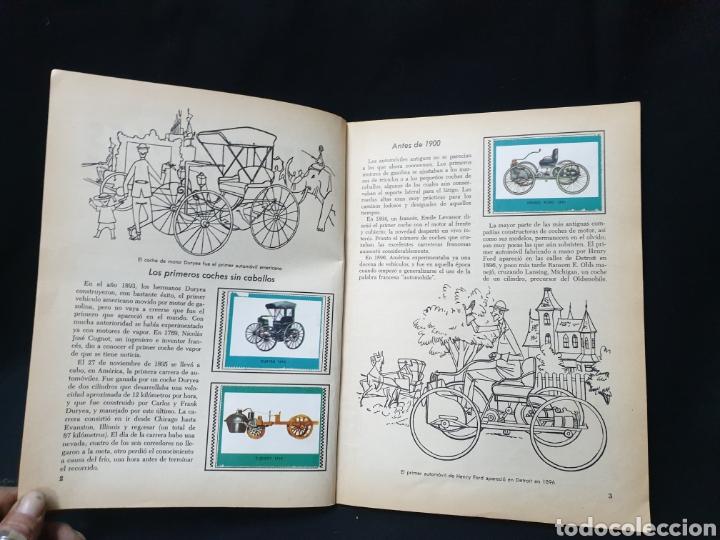 Coleccionismo Álbum: Libro de oro de estampas , Automoviles de ayer y de hoy Novaro 1948 - Foto 6 - 195106928