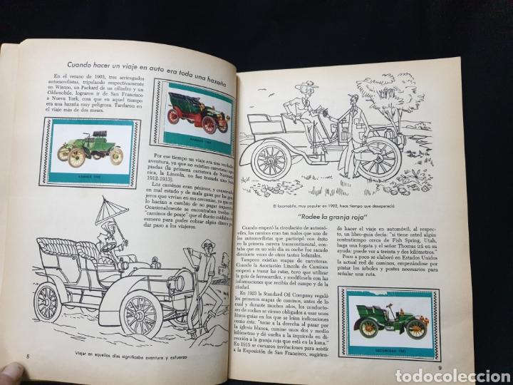Coleccionismo Álbum: Libro de oro de estampas , Automoviles de ayer y de hoy Novaro 1948 - Foto 7 - 195106928