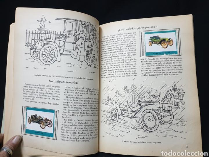 Coleccionismo Álbum: Libro de oro de estampas , Automoviles de ayer y de hoy Novaro 1948 - Foto 8 - 195106928