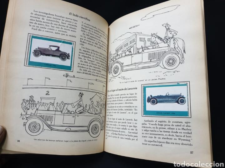 Coleccionismo Álbum: Libro de oro de estampas , Automoviles de ayer y de hoy Novaro 1948 - Foto 9 - 195106928