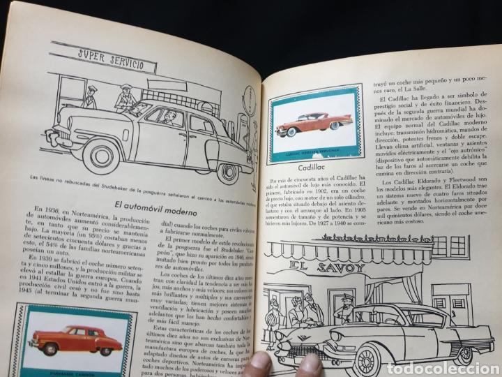 Coleccionismo Álbum: Libro de oro de estampas , Automoviles de ayer y de hoy Novaro 1948 - Foto 10 - 195106928