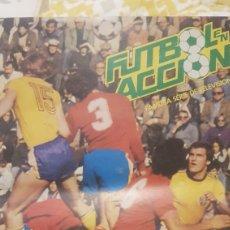 Coleccionismo Álbum: ALBUM FUTBOL EN ACCION. Lote 195141815