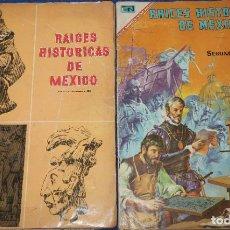 Coleccionismo Álbum: RAICES HISTÓRICAS DE MEXICO - ALBUM 1º Y 2º - NOVARO (1966) ¡COMPLETOS!. Lote 195144623