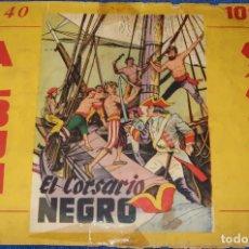 Coleccionismo Álbum: EL CORSARIO NEGRO - CUBA (AÑOS 60) ¡COMPLETO!. Lote 195144993