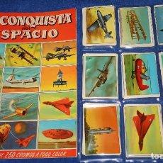 Coleccionismo Álbum: LA CONQUISTA DEL ESPACIO - BRUGUERA (1956) ¡COLECCIÓN COMPLETA SIN PEGAR!. Lote 195146175