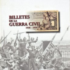 Coleccionismo Álbum: BILLETES DE LA GUERRA CIVIL 1936-1939 DE EL PAIS. Lote 195149533