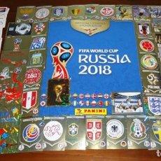 Coleccionismo Álbum: COLECCION COMPLETA MUNDIAL 2018 RUSSIA PANINI,FIFA WORLD CUP RUSIA ( 682 CROMOS + ALBUM ) COMPLETO. Lote 195190478