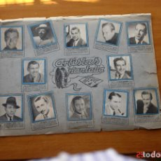 Coleccionismo Álbum: COLECCION COMPLETA -ARTISTAS DE LA PANTALLA SERIE 10A Y 10B DE LA ENCICLOPEDIA CHIQUITITO-1941-1942. Lote 195194061