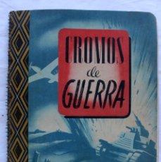 Coleccionismo Álbum: CROMOS DE GUERRA. ÁLBUM COMPLETO SERIE A. EDICIONES VÍCTOR. AÑO 1945.. Lote 195196382