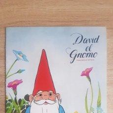 Coleccionismo Álbum: ÁLBUM DAVID EL GNOMO DANONE 1985. Lote 195243138