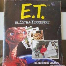 Coleccionismo Álbum: ÁLBUM CROMOS E.T. EL EXTRATERRESTRE EDICIONES ESTE COMPLETO. Lote 195246313