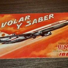 Coleccionismo Álbum: ANTIGUO ALBUM VOLAR Y SABER DE BIMBO . Lote 195256612