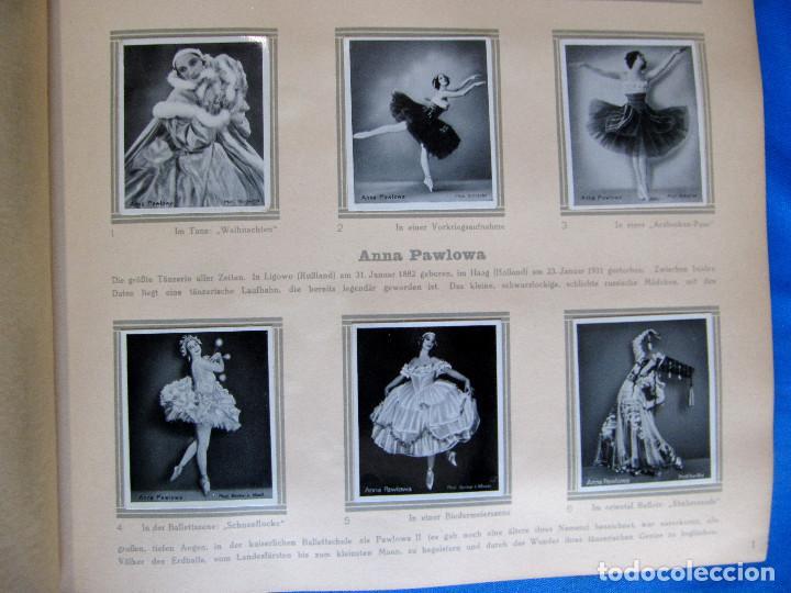 Coleccionismo Álbum: ÁLBUM DE ARTISTAS DE BALLET Y DANZA. COMPLETO, 312 CROMOS. DISTRIBUIDOR. ECKSTEIN - HALPAUS. DRESDE. - Foto 4 - 195271996