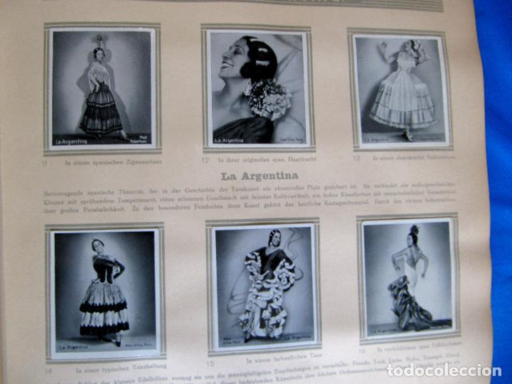 Coleccionismo Álbum: ÁLBUM DE ARTISTAS DE BALLET Y DANZA. COMPLETO, 312 CROMOS. DISTRIBUIDOR. ECKSTEIN - HALPAUS. DRESDE. - Foto 5 - 195271996