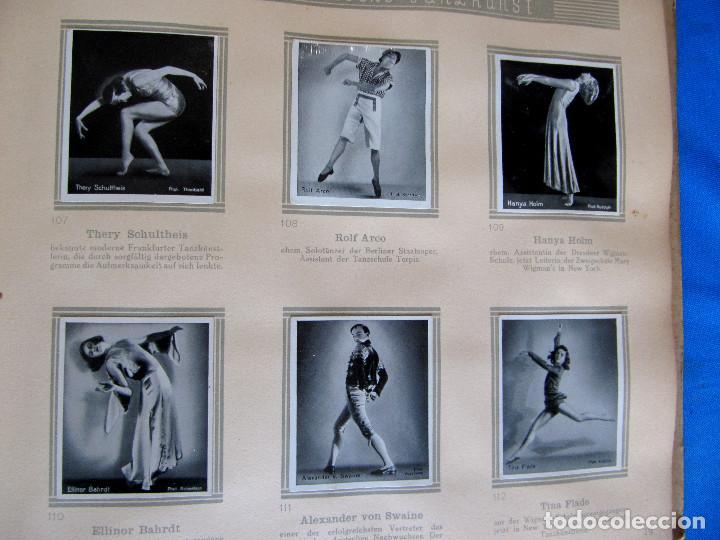 Coleccionismo Álbum: ÁLBUM DE ARTISTAS DE BALLET Y DANZA. COMPLETO, 312 CROMOS. DISTRIBUIDOR. ECKSTEIN - HALPAUS. DRESDE. - Foto 6 - 195271996