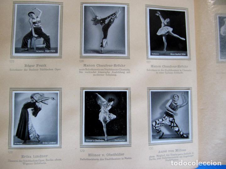 Coleccionismo Álbum: ÁLBUM DE ARTISTAS DE BALLET Y DANZA. COMPLETO, 312 CROMOS. DISTRIBUIDOR. ECKSTEIN - HALPAUS. DRESDE. - Foto 7 - 195271996