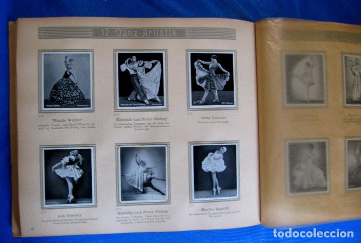 Coleccionismo Álbum: ÁLBUM DE ARTISTAS DE BALLET Y DANZA. COMPLETO, 312 CROMOS. DISTRIBUIDOR. ECKSTEIN - HALPAUS. DRESDE. - Foto 9 - 195271996