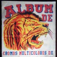 Coleccionismo Álbum: ÁLBUM DE CROMOS MULTICOLORES DE ANIMALES PLANTAS MARINAS - COMPLETO 246 CROMOS. Lote 195282705