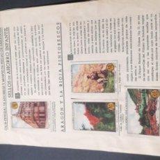 Coleccionismo Álbum: 1 ARAGON RIOJA PINTORESCOSSELLOS AHORRO INFANTIL CAJA AHORROS ZARAGOZA COMPLETO SELLADOCP B-1. Lote 195324255