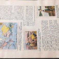 Coleccionismo Álbum: 11 LAS RAZAS HUMANASSELLOS AHORRO INFANTIL CAJA AHORROS ZARAGOZA COMPLETO SELLADOCP B-1. Lote 195324717