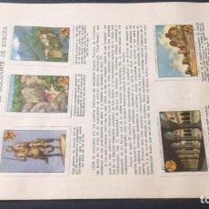 Coleccionismo Álbum: 16 EDAD MEDIASELLOS AHORRO INFANTIL CAJA AHORROS ZARAGOZA COMPLETO SELLADOCP B-1. Lote 195325115