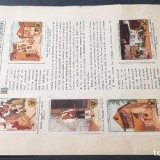 Coleccionismo Álbum: 2 ARAGON TIPOS COSTUMBRES VIVENCIASSELLOS AHORRO INFANTIL CAJA AHORROS ZARAGOZA COMPLETO SELLADOC. Lote 195325362