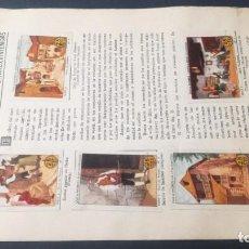 Coleccionismo Álbum: 2 ARAGON TIPOS COSTUMBRES VIVENCIASSELLOS AHORRO INFANTIL CAJA AHORROS ZARAGOZA COMPLETO SELLADOC. Lote 195325468