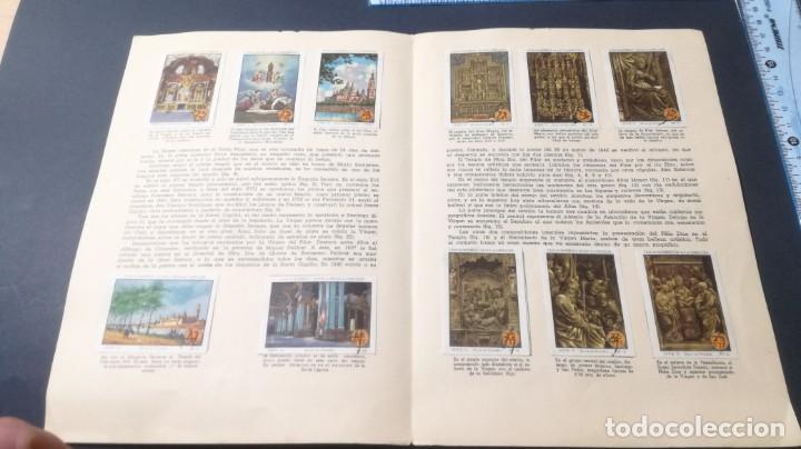 Coleccionismo Álbum: 15 VIRGEN PILAR TEMPLOSELLOS AHORRO INFANTIL CAJA AHORROS ZARAGOZA COMPLETO SELLADOCP B-1 - Foto 3 - 195325611