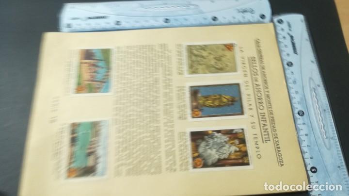 Coleccionismo Álbum: 15 VIRGEN PILAR TEMPLOSELLOS AHORRO INFANTIL CAJA AHORROS ZARAGOZA COMPLETO SELLADOCP B-1 - Foto 4 - 195325611