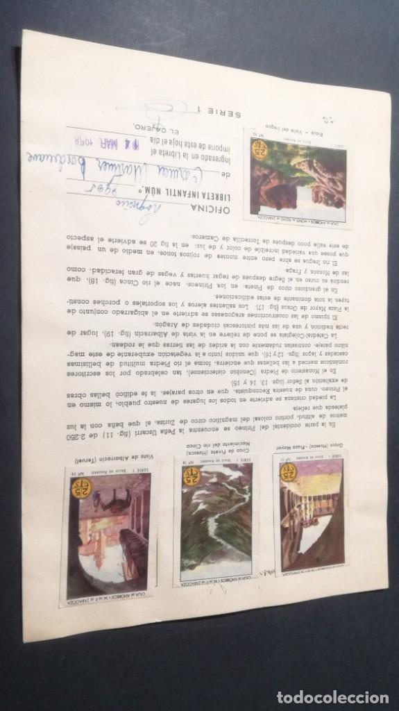 Coleccionismo Álbum: 1 ARAGON RIOJA PINTORESCOSSELLOS AHORRO INFANTIL CAJA AHORROS ZARAGOZA COMPLETO SELLADOCP B-1 - Foto 2 - 195325716