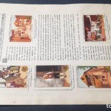Coleccionismo Álbum: 2 ARAGON TIPOS COSTUMBRES VIVENCIASSELLOS AHORRO INFANTIL CAJA AHORROS ZARAGOZA COMPLETO SELLADOC. Lote 195325805