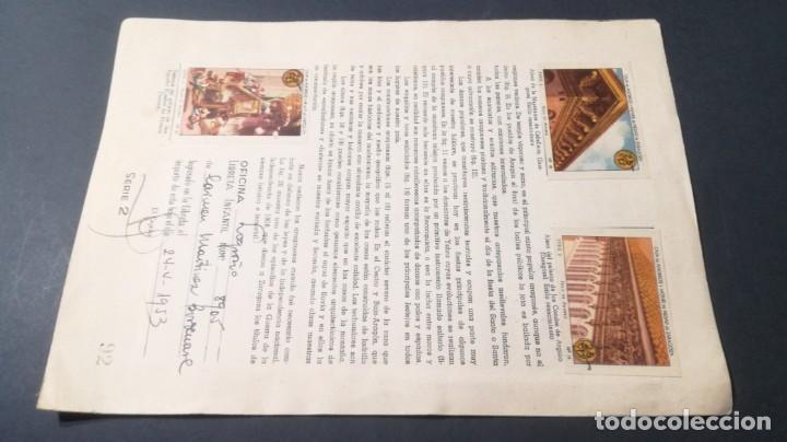 Coleccionismo Álbum: 2 ARAGON TIPOS COSTUMBRES VIVENCIASSELLOS AHORRO INFANTIL CAJA AHORROS ZARAGOZA COMPLETO SELLADOC - Foto 2 - 195325805